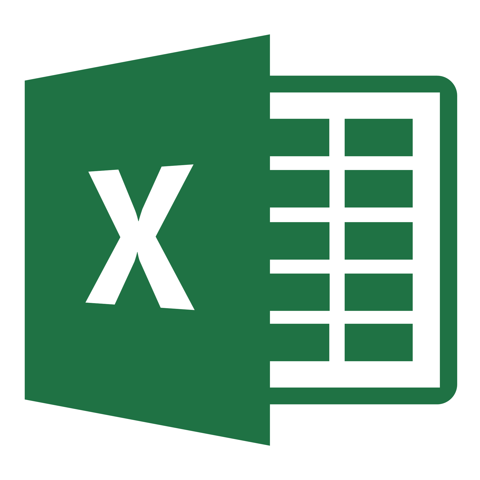 Download Excel xslx